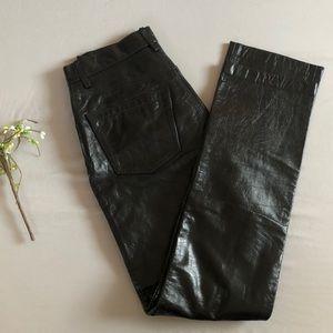 GAP Genuine Leather Original Fit Pants